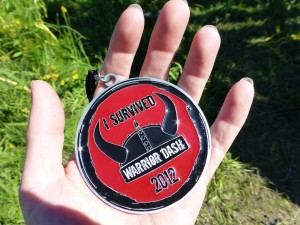Warrior Dash - medal