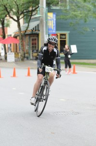 Finish line, Prospera Valley GranFondo