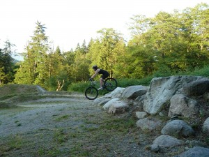 Burnaby Bike Park downhill skills clinic