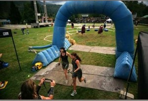 Squamish Super Spartan finish line
