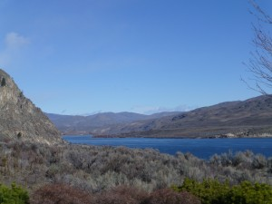 Columbia River, Chelan area