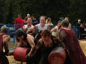 Battling gladiators at the Spartan Sprint