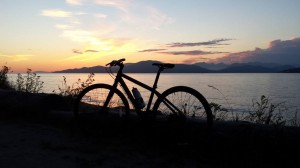 Sunset at Spanish Banks