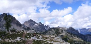 Frisco Peak shoulder, Maple Pass Loop