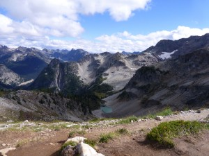 Hanging valley, Frisco Peak, Maple Pass Loop