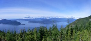 Bowen viewpoint, Howe Sound Crest Trail