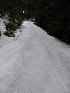Red Heather luge track