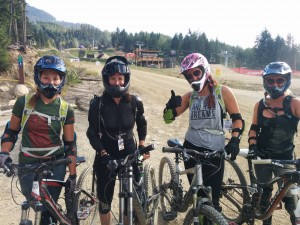 Bike park friends